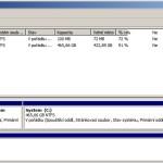 Správa disků Windows 7